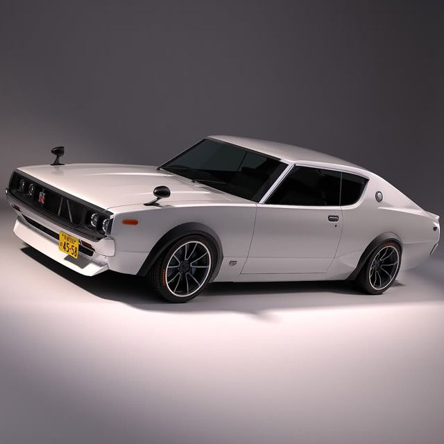 20 Elegant Classic Vehicle Designs 1973 Nissan Skyline GT R. Find This Pin  And More On Japanese Sport Cars ...