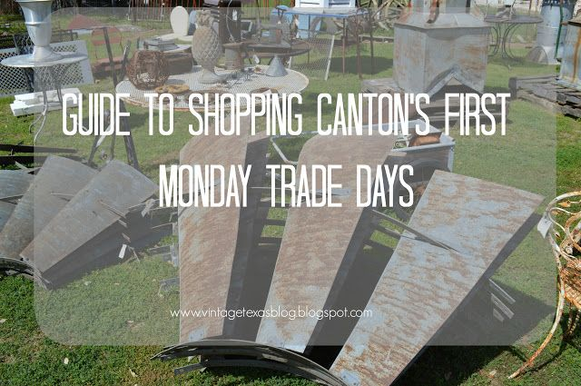 Vintage Texas: Your Guide to Shopping Canton's First Monday Trade Days
