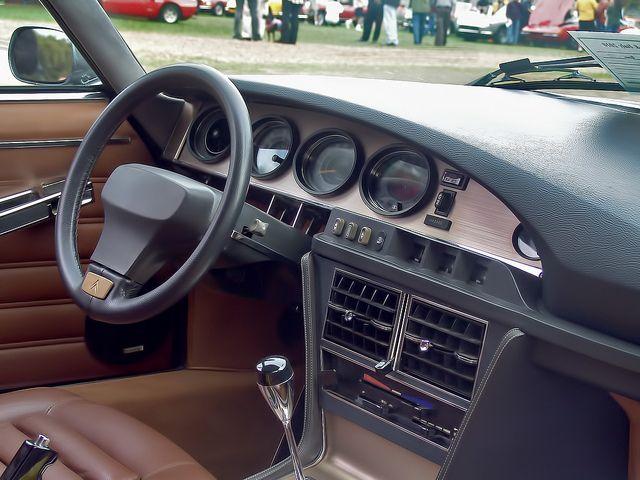 Citroen Maserati SM Interior