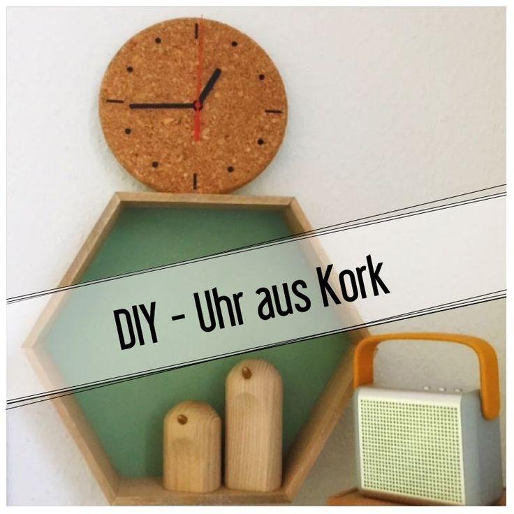 DIY – Uhr aus Kork