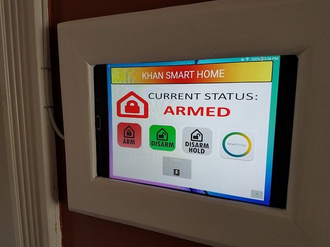 My SmartThings Alarm Panel - Projects & Stories