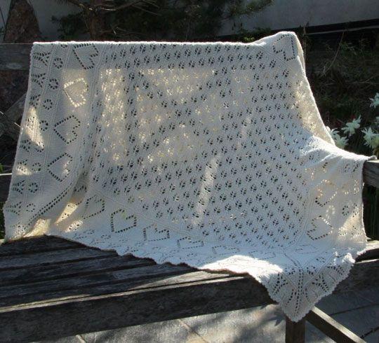 Best 17 Heart Knitting Patterns Baby Blankets Ideas On Pinterest