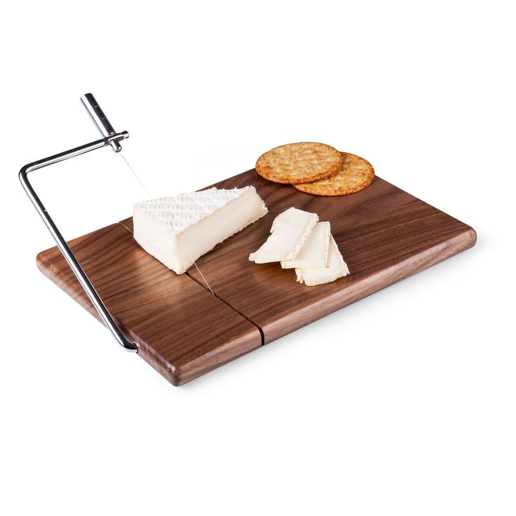 Black Walnut Cheese Slicer & Cutting Board