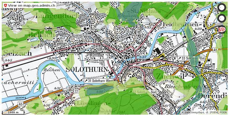 Solothurn SO Wald Nationalpark Urlaub http://ift.tt/2n3g4CR #maps #Geomatics
