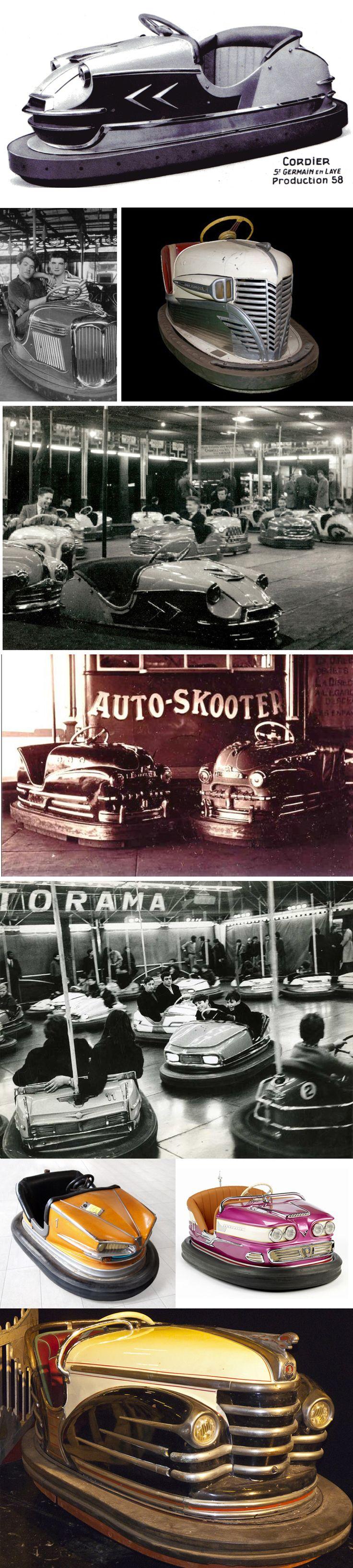 Mais uma ficha mais uma volta!!  Vintage Bumper Cars