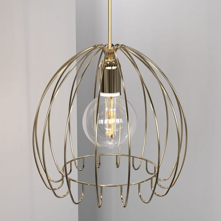 17 best images about Cage Pendant Lights on Pinterest  Copper