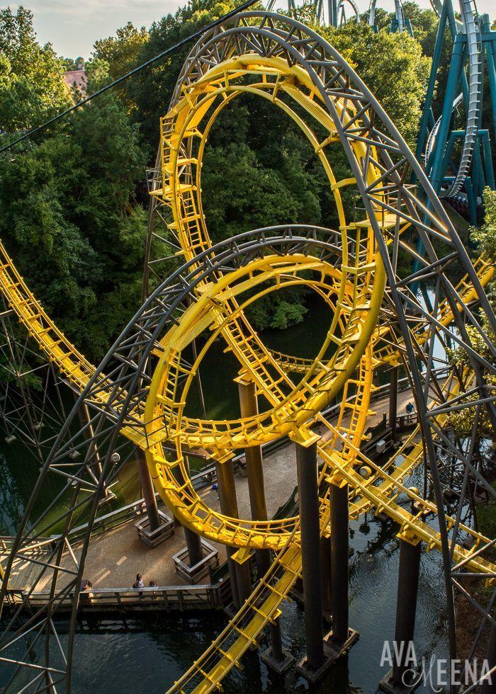 Loch Ness Roller Coaster Busch Gardens