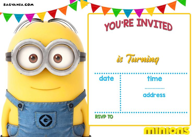 The 25 Best Minion Birthday Invitations Ideas On Pinterest