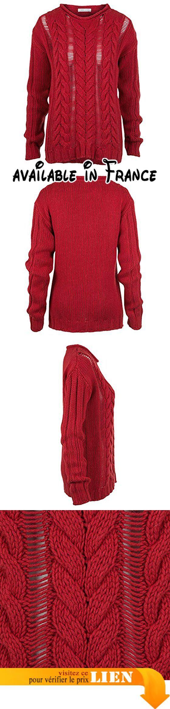 Pierre Balmain Rundhals Pullover rot Gr. 36. Pierre Balmain Rundhals Pullover rot Gr. 36 | Damen Pullover online kaufen bei Luxury Loft #Apparel #SWEATER