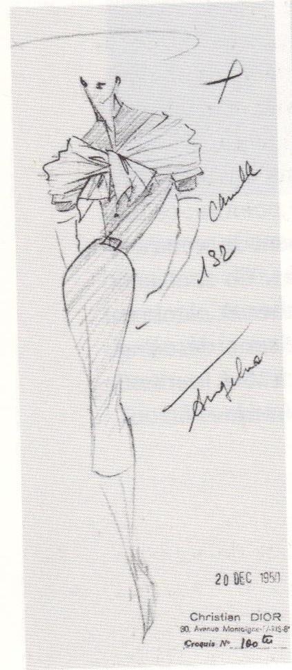 1951 - Dior Sketch