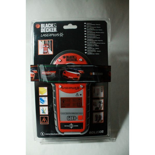 Laser και Ανιχνευτής Black&Decker BDL 2305 | electrictools.gr