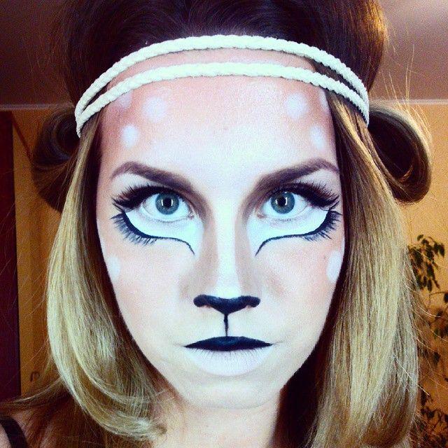 #makeup #halloween #deer #bambi