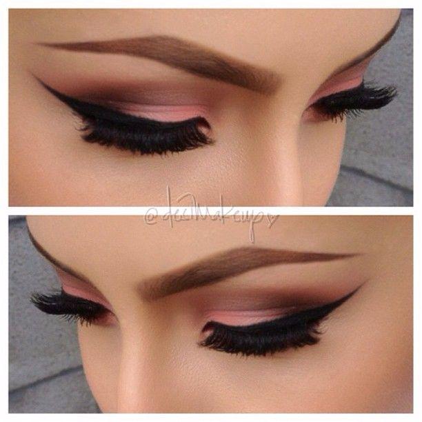 Peachy On lid inglot eyeshadow