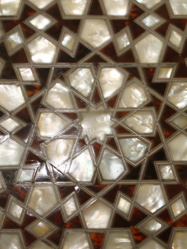 Mother of Pearl tiles, Topkapi Palace, Istanbul