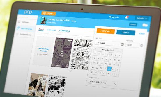 www.popcomics.com - aplikacja webowa dla twórców i fanów komiksów