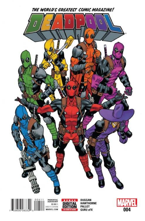 Deadpool (2015) Issue #4