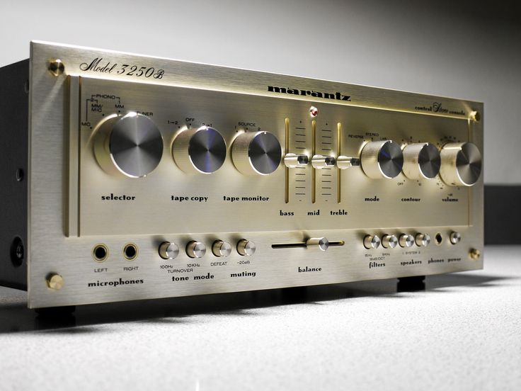 1979 High End Preamp from the late 70's.