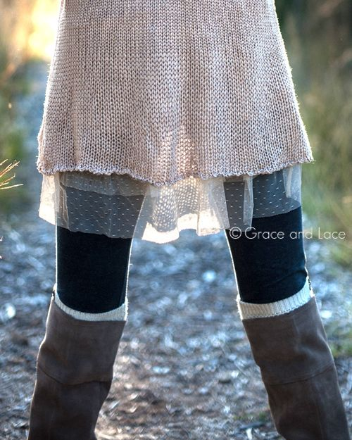 Grace and Lace - Mesh Skirt Extender, $34.00 (http://www.graceandlace.com/all/mesh-skirt-extender/)