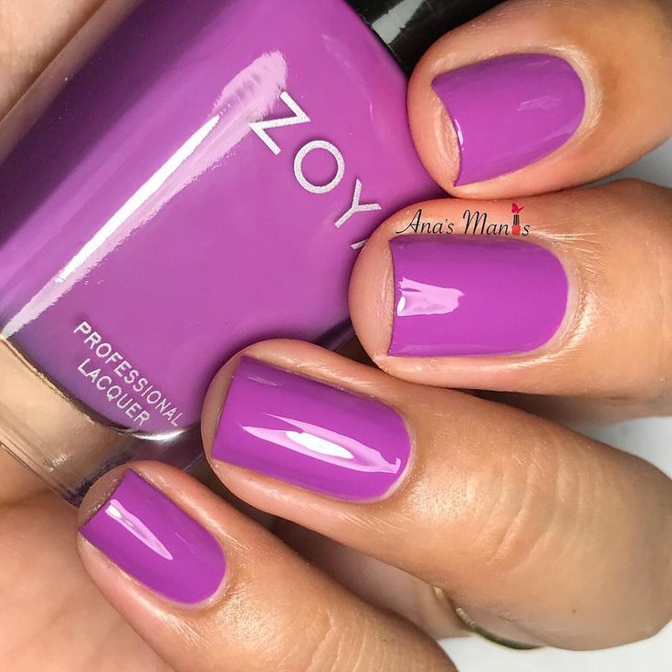 """1,940 Likes, 21 Comments - Zoya Nail Polish (@zoyanailpolish) on Instagram: """"Have you tried #ZoyaLois yet? This rich violet cream will become an instant favorite!  …"""""""