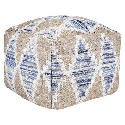 Threshold Pouf 60 Care And Cleaning Wipe Clean With A