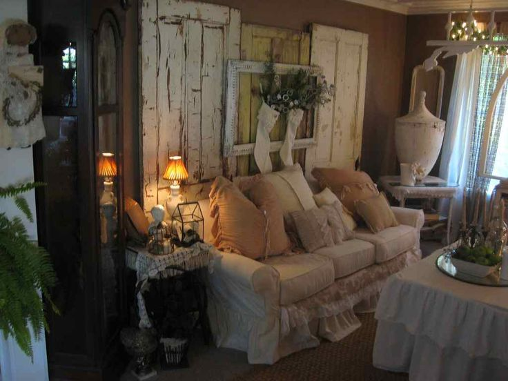 shabby chic living room by tin rabbit