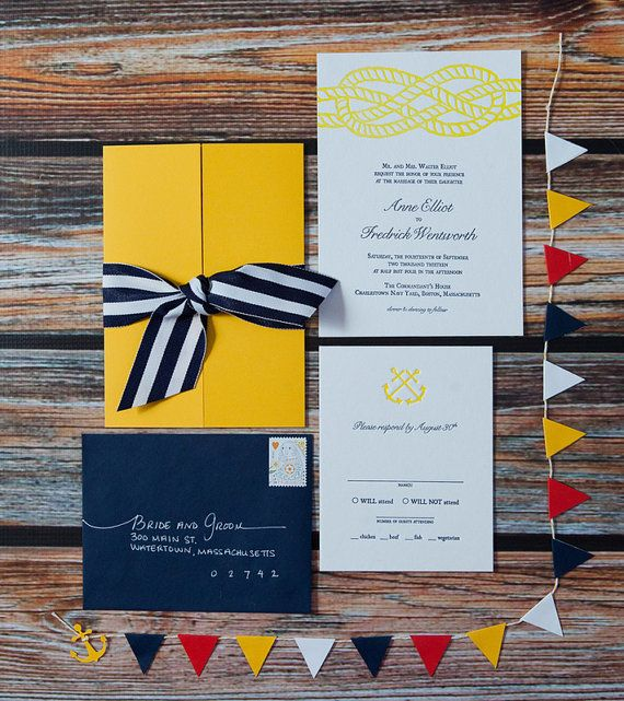 nautical invites