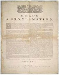 250th Anniversary of the Royal Proclamation of 1763 - Indigenous and Northern Affairs - Canada
