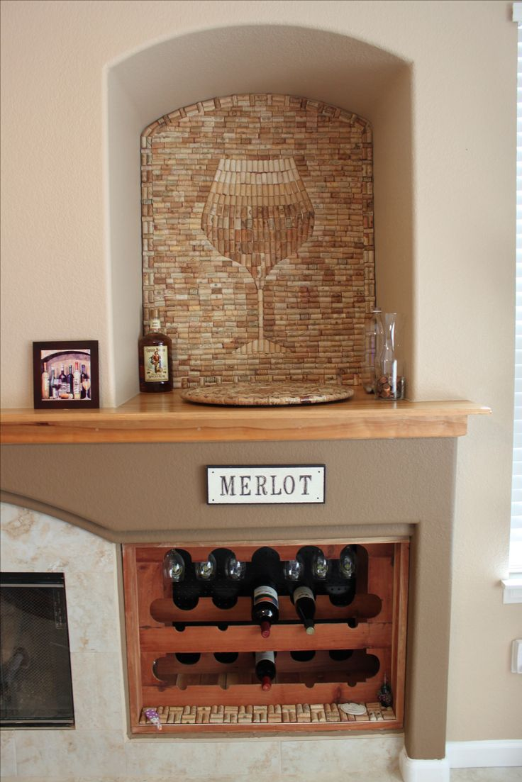 the best decoration any wine lover could ask for.