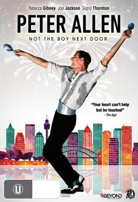 Peter Allen - Not the Boy Next Door (2015) / Mini-Series / Ep. 2 / Bio-Drama [Australia] / Stars: Joel Jackson, Rebecca Gibney / Based on the book Peter Allen: The Boy From Oz by Stephen MacLean / How a boy from the bush became a superstar who conquered the world. The story of one of Aus most iconic entertainers, Peter Allen