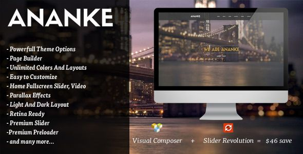 Ananke is a Modern and Creative premium WordPress Theme. Design Theme is made in a beautiful style. It is suitable for Personal Portfolio, Creative Agency, Designer Portfolio, Illustrator Portfolio, Photographer Portfolio and more.Theme has a universal design, it thought every detail and animation effect. Its just as easy to customize to fit your needs, replace images and texts.