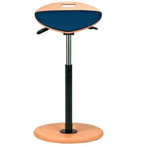 Grahl's perching stools are Ideally suited to be used in conjunction with height adjustable sit-stand desking.