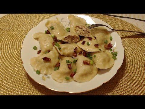 Pierogi z Mięsem – Przygotowanie Farszu i Ciasta - YouTube
