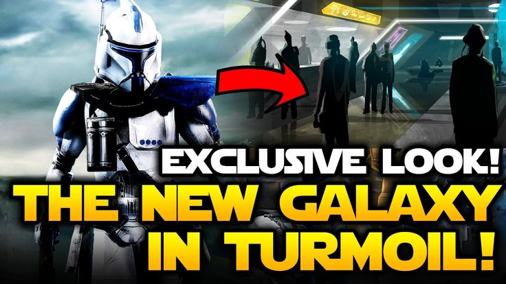 What Star Wars Battlefront Galaxy in Turmoil Has Become! EXCLUSIVE FIRST LOOK! https://youtu.be/wkjWwox7Yi8