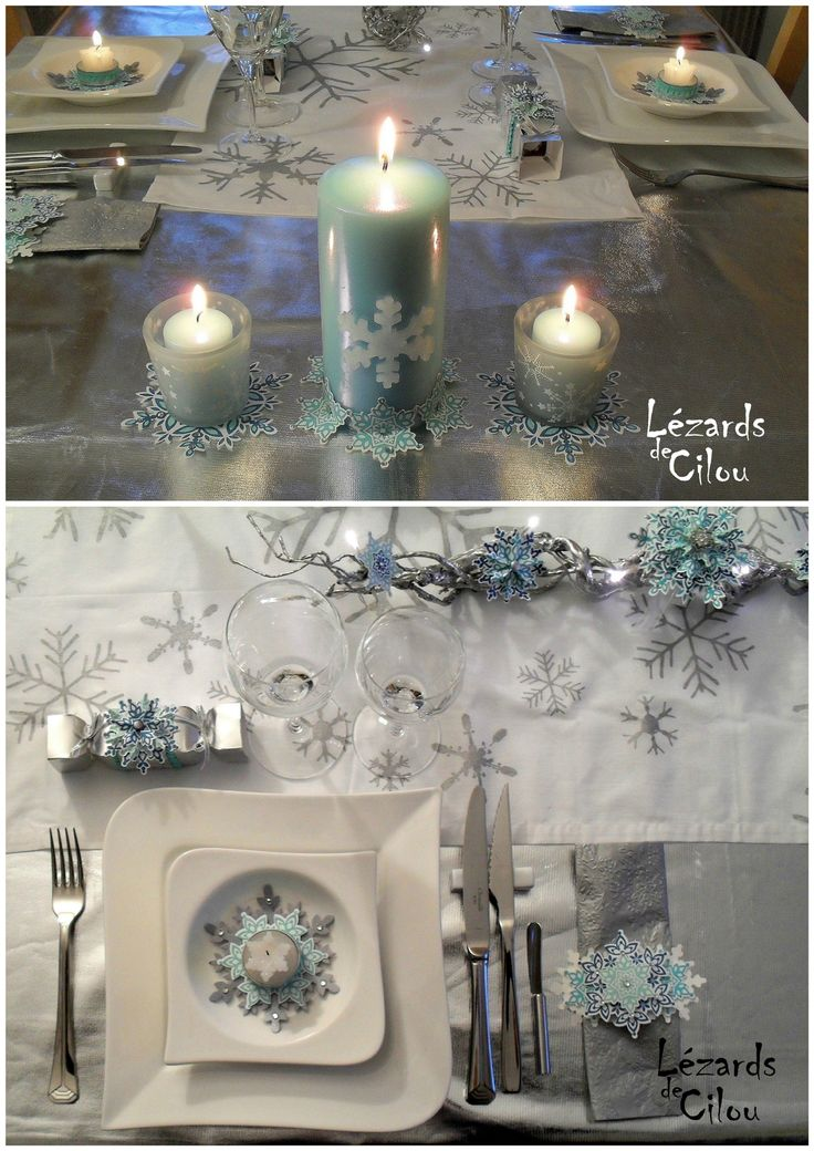 14 best images about stampin up table decorations on pinterest - Decoration table noel ...