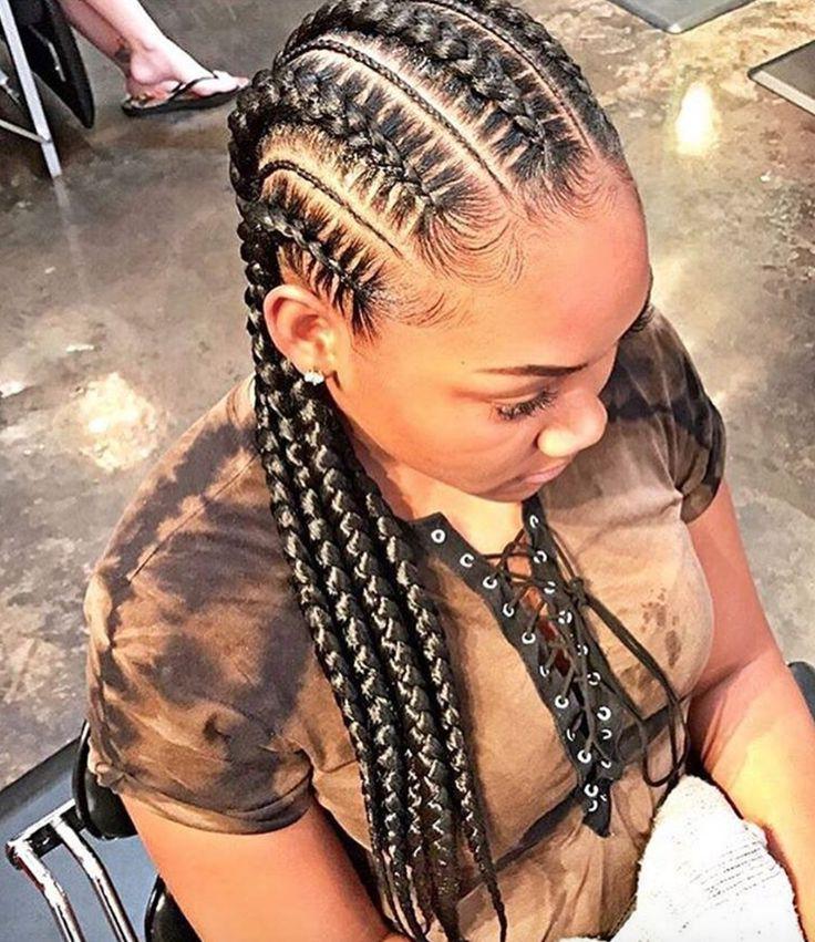 Latest Ghana Braids Hairstyles: 281 Best Ghana Braids Images On Pinterest