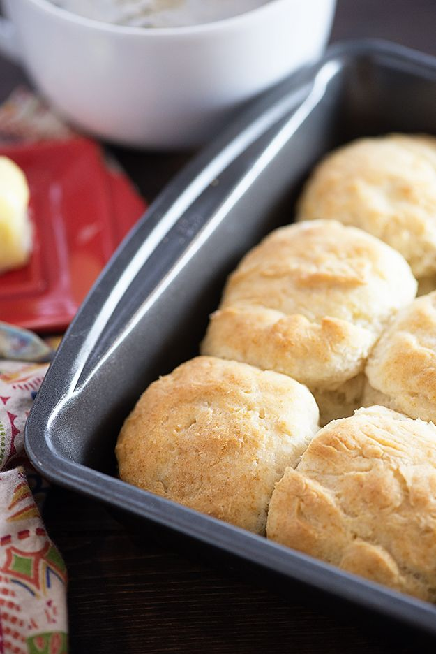 These 7up biscuits taste just like the KFC biscuit recipe. Buttery, fluffy biscuit perfection!