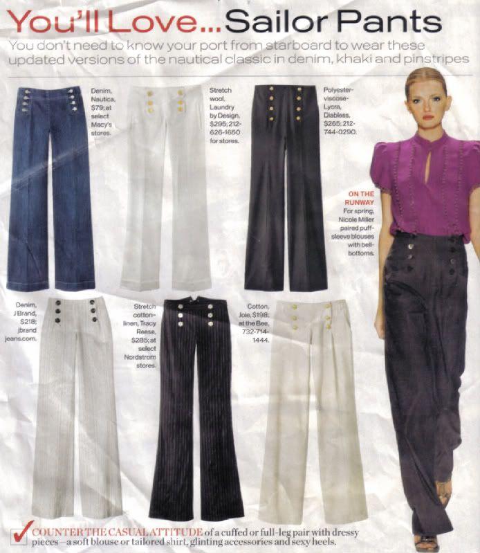 Patrones calientes 1016 - Riviera Hola, marinero! Pantalones | Erica B. 's - estilo DIY!