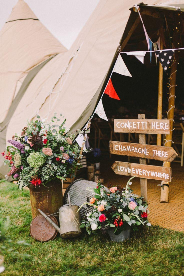 decoration de mariage ambiance festival