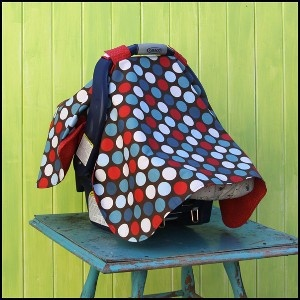 Download Car Seat Cover Up Sewing Pattern | Sewing Patterns for Babies: Buy Baby Sewing Patterns on Sale Now | YouCanMakeThis.com