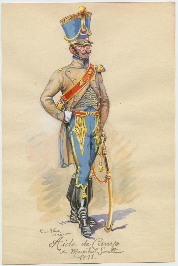 Aide de camp du maréchal Soult 1811