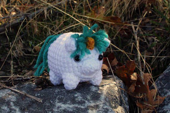 Marshmallow Unicorn crochet pattern