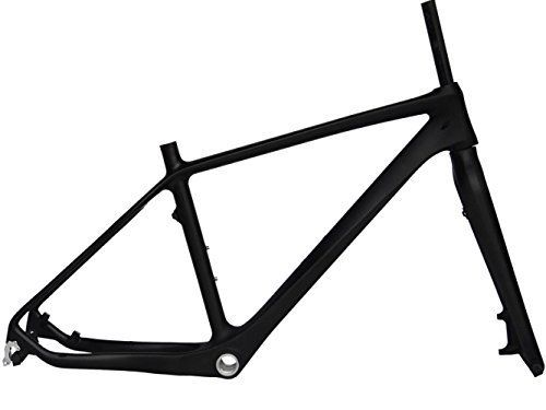 Full Carbon Matt 26er Mountain Bike MTB BB30 Cycling Frame And Fork 18' * Find out more about the great product at the image link.