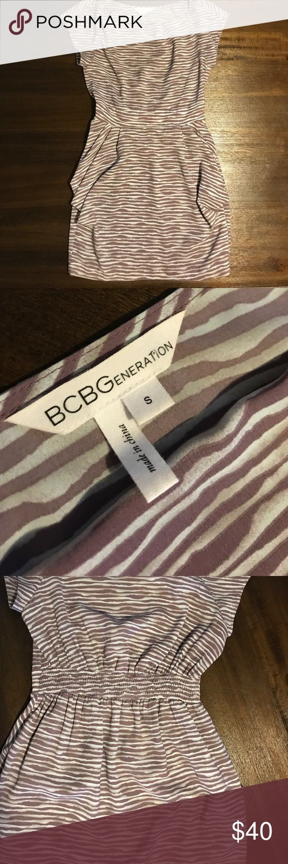 """BCBG Generation dress Perfect spring work dress! Used but looks brand new since I only wore it once length is 33"""" and bust size is 17 . Ill take best offer 🤗 BCBGeneration Dresses Midi"""