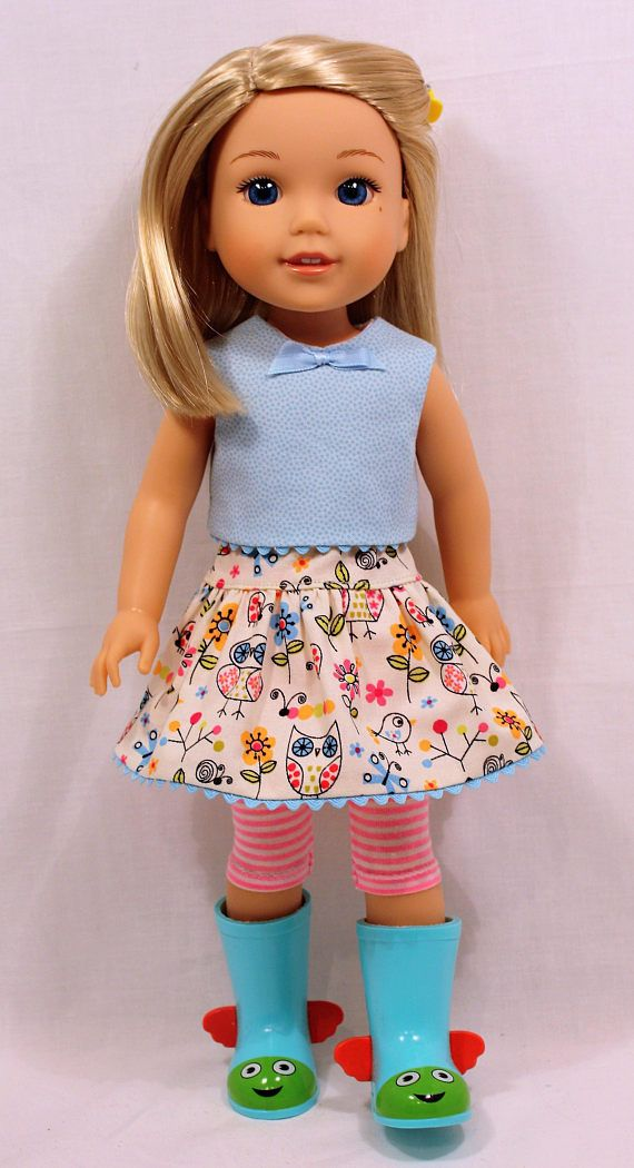 029e21d5e L'il Miss Sunshine-Playtime Outift. 14.5 Inch Doll Clothing | Wellie  Wishers and Effner Dolls | Muñecas, Vestidos