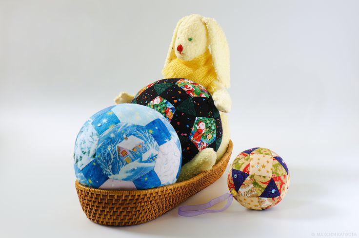 Пэчворковые шары к Новому Году. Мастер-класс №2. Обсуждение на LiveInternet - Российский Сервис Онлайн-Дневников