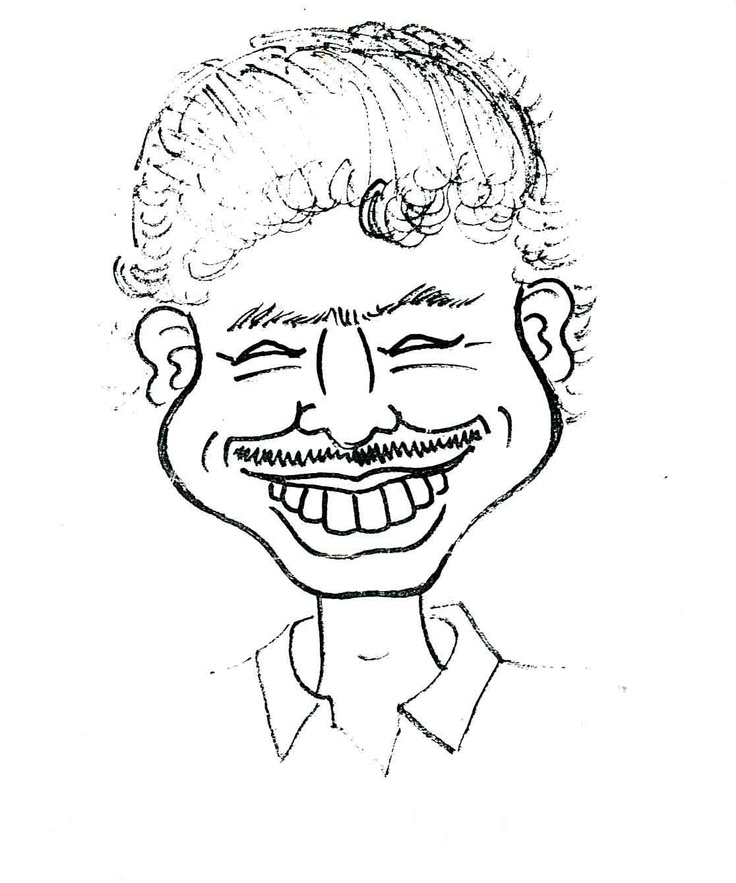 CM Stivens - caricatura de Arturo Vargas