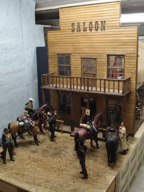 1 6 Scale Saloon Diorama 1 6 Scale Dioramas Barbie