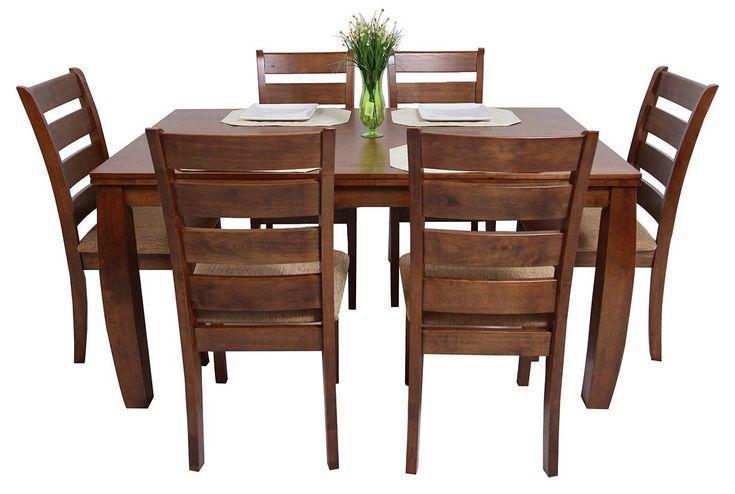 Las 29 mejores im genes sobre silla madera en pinterest for Comedor redondo de madera de 6 sillas