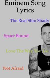 Eminem song lyrics by -Eminem