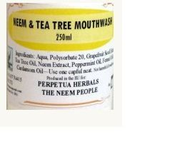 This alcohol free Neem mouthwash is particularly good for treating mouth ulcers,…